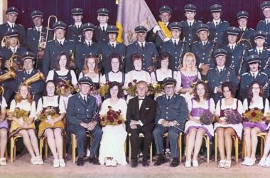 Gruendungsfest und Fahnenweihe 1971