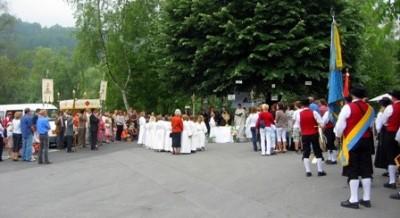 Fronleichnam - Begleitung Prozession